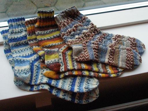 3 par sokker januar