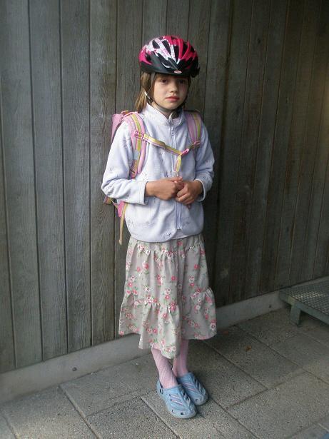 Louises blomstrede nederdel