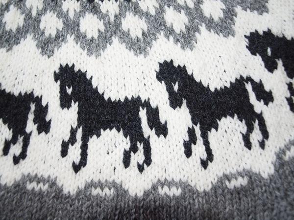 islandsk sweater mønster