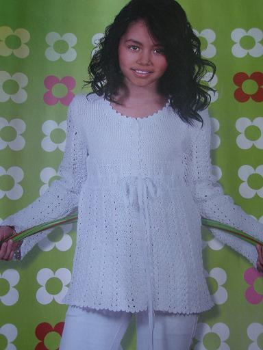 Hvid Ingelise-trøje