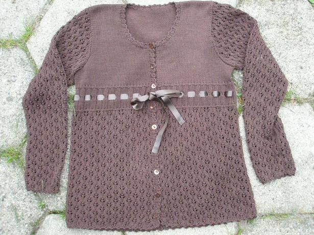 Brun Ingelise-trøje