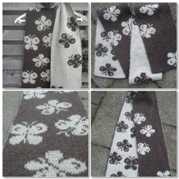 Sommerfugletørklæde